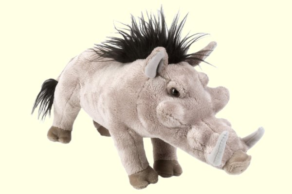 stuffed toys - Stuffed Warthog - Zoo Animals