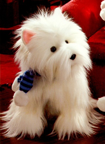 Stuffed Plush West Highland Terriers From Stuffed Ark