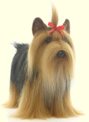 Hansa Stuffed Plush Yorkshire Terrier