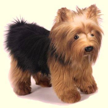 Hansa Small Yorkshire Terrier Stuffed Animal