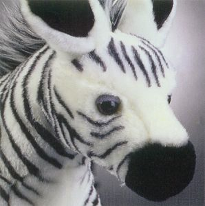 Stuffed Zebra